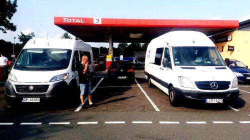 Busy Anglia Polska – stacja benzynowa