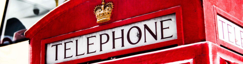 telefon busy do anglii