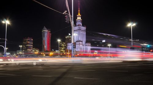 Busy z Polski do Anglii z Warszawy