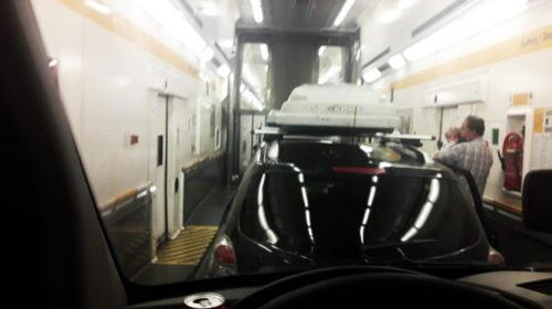 Eurotunel – Pociąg – Kanał La Manche