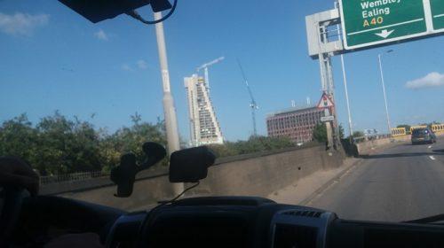 W drodze do Anglii – Widok z Busa